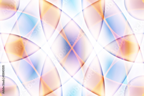 Fototapeta Sweet color wave abstract background