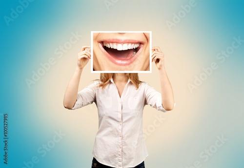 Poster Zahnarzt.