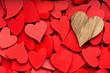 Obrazy na płótnie, fototapety, zdjęcia, fotoobrazy drukowane : More small red hearts background.