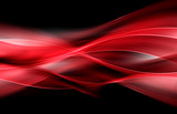 Modern Background Abstract Red Wave Design