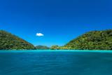 Wonderful blue seascape at Surin Island , Thailand