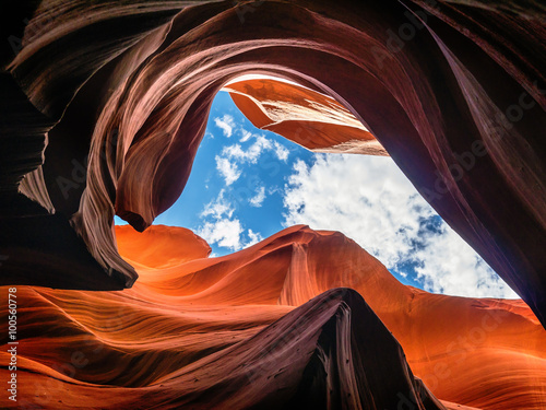 obraz lub plakat Antelope Canyon, Arizona, USA