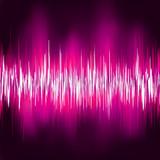 Abstract purple waveform. EPS 8