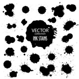 Vector collection of various ink splatter - 100615522