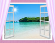 Ocean view window - 100624349