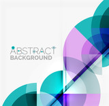 Fototapety Geometric design abstract background - circles