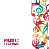 Music background. Vector illustration - 100712137