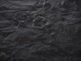 Dramatic dark grey concrete wall background. Raw concrete wall texture, customizable, suitable for background use. - 100727318