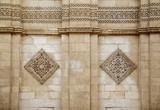 Exterior wall of Al-Hakim mosque ,Cairo, Egypt.