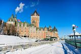 Winter in Quebec city canada