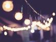 Obrazy na płótnie, fototapety, zdjęcia, fotoobrazy drukowane : Lights decoration Event Festival outdoor Vintage tone
