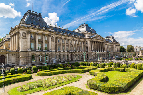 Foto op Canvas Brussel The Royal Palace in Brussels