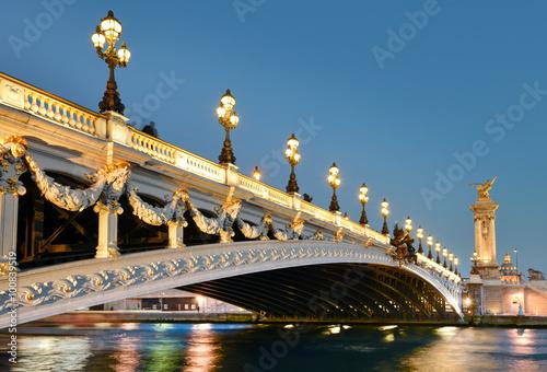 pont alexandre paris poster affiche acheter le sur. Black Bedroom Furniture Sets. Home Design Ideas