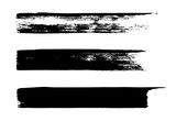Set of grungy vector brushes - 100855987