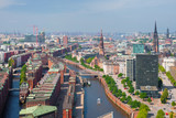 Hamburg in summer