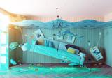 underwater  flooding interior - 100881991