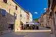 Colorful stone streets of Stari Grad