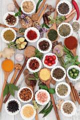 Zdrowe zioła i przyprawy