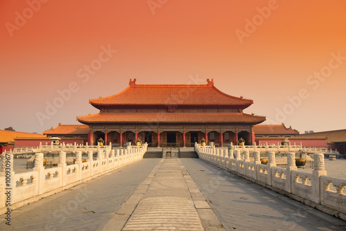 Papiers peints Pekin Forbidden City