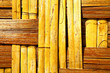 thailand abstract  bamboo in the temple kho bay asia