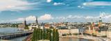 Panorama Starego Miasta Sztokholm, Szwecja