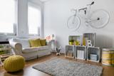 Fototapety Living room full of decor ideas