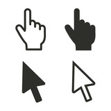 Cursor - vector icon.