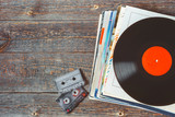 Vinyl records and cassettes