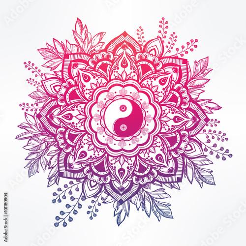 ozdobny-kwiat-z-symbolem-yin-i-yang