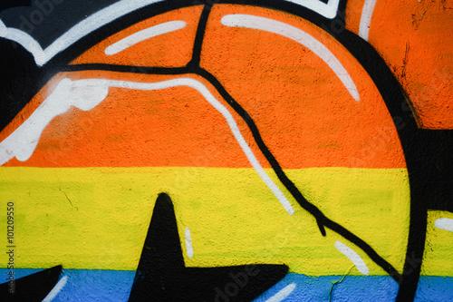 Fototapeta Murales, vernice colorata