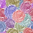 Vintage roses background. Vector illustration, EPS 10