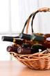 Wine Basket Still Life