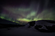 Northern lights (aurora borealis) in Alaska