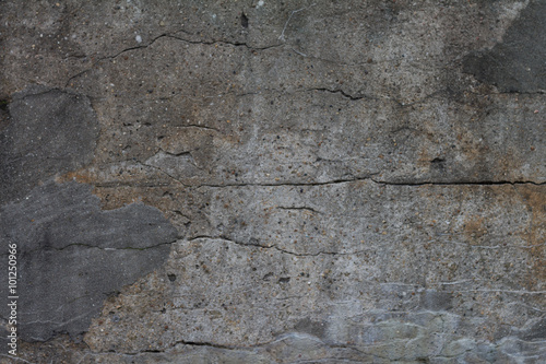 Aluminium Betonbehang broken concrete grunge texture