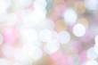 Abstract blur light