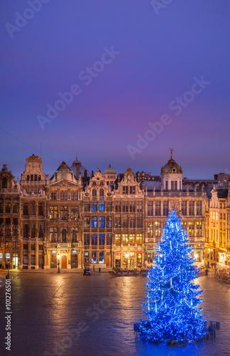 Foto op Canvas Brussel Bruxelles grand place