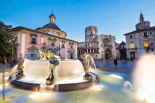 Square of Saint Mary's, Valencia, Spain.