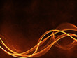 fire curly lines abstract background