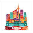 Berlin. Vector illustration
