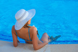 summer vacation or holiday woman