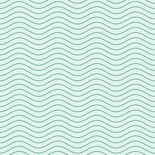 Vector naadloze abstracte patroon, golven