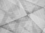 abstract white gray background, triangles and angled shapes layered line design element, faded texture design, geometric background
