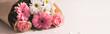 Obrazy na płótnie, fototapety, zdjęcia, fotoobrazy drukowane : Bunch of flowers, panorama