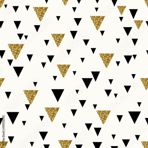 Fototapeta Abstract Geometric Seamless Pattern