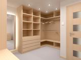 Modern wardrobe - 101394144