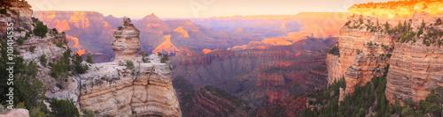 Grand Canyon Sunset Panorama