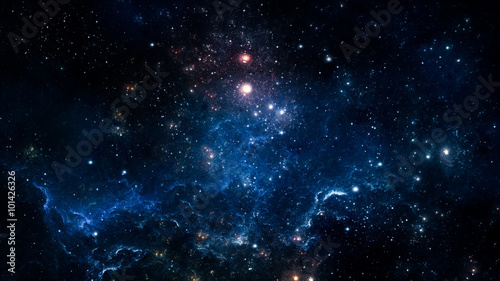 Space nebula. Elements of this image furnished by NASA
