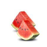 Fresh Watermelon White Background