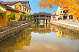 Japanese Bridge in Hoi An. Vietnam - 101476381