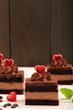 Obrazy na płótnie, fototapety, zdjęcia, fotoobrazy drukowane : Sweet cakes with hearts for Valentines Day with space for text